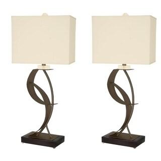 """Van Teal 630672PR Lady Eva 33"""" Table Lamps (Set of 2)"""