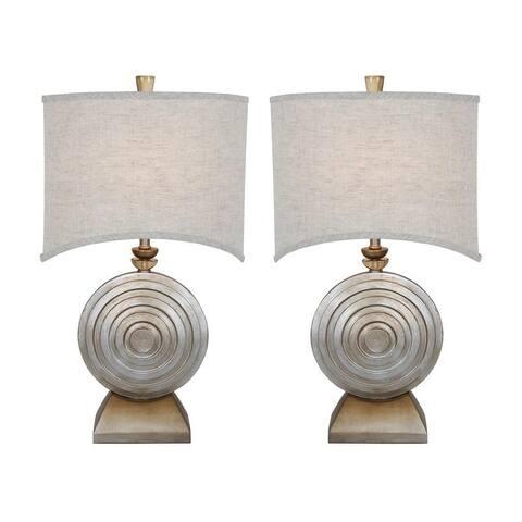 """Van Teal 131872PR Ofra 29""""Table Lamps (Set of 2)"""