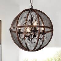 Marcelline Brown 4-Light Globe Pendant