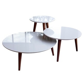 3- Piece Modern Moore Round End Table