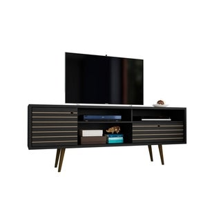 Link to Liberty 70.86 In. Mid Century Modern 4 Shelf TV Stand Similar Items in Entertainment Units