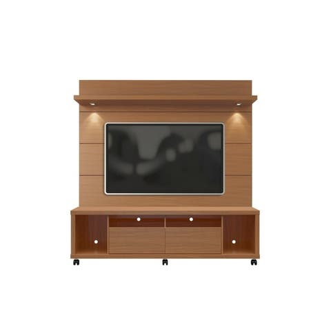 Cabrini TV Stand and Floating Wall LED TV Panel 1.8