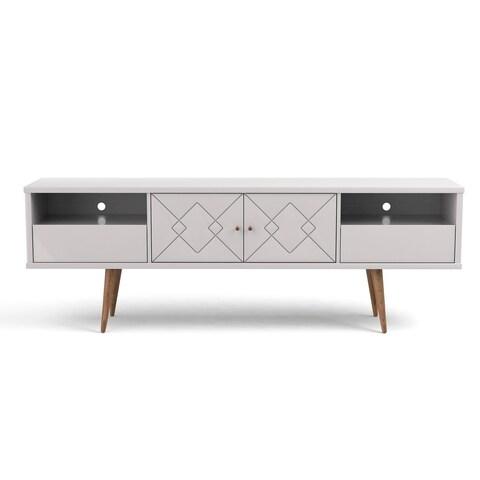 Mid Century Modern Trinity 70.86 In. Wood TV Stand