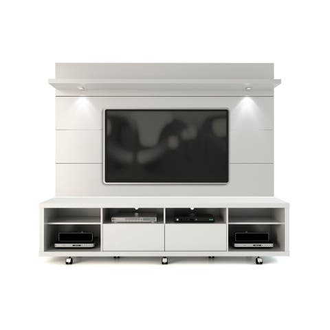 Cabrini TV Stand and Floating Wall LED TV Panel 2.2