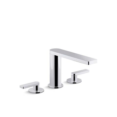 Kohler K-73060-4 Composed Widespread Bathroom Sink Faucet With Lever Handles