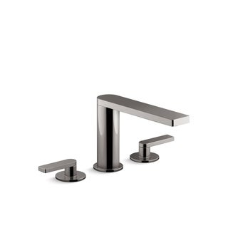 Kohler K-73060-4 Composed Widespread Bathroom Sink Faucet With Lever Handles