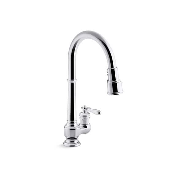 Shop Kohler Artifacts Pullout Spray Kitchen Faucet K 99260