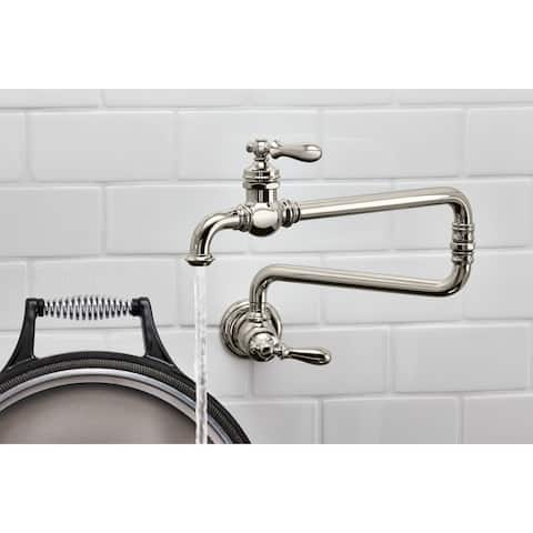 Stupendous Buy Wall Mount Kitchen Faucets Online At Overstock Our Complete Home Design Collection Epsylindsey Bellcom