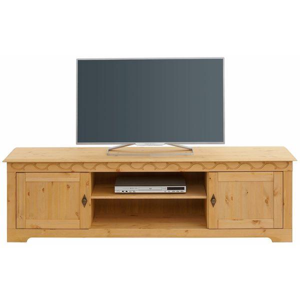 Lando 69-inch TV-Lowboard, solid pine, natural