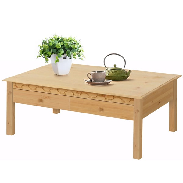 Coffee Table With Drawers Sale: Shop Lando 1 Drawer Coffee Table, Solid Pine, Natural