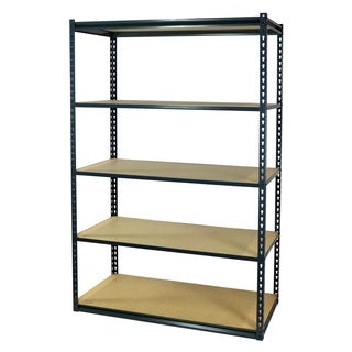 Shelving-Pro Garage Shelving Boltless, 48 x 18 x 72, Heavy Duty, 5 Shelves