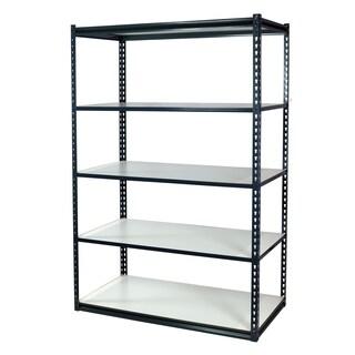 Shelving-Pro Garage Shelving Boltless, 48 x 18 x 72, Heavy Duty, 5 Shelves