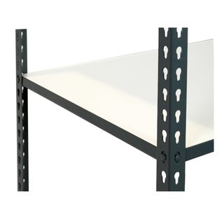 Shelving-Pro 48 x 24 Extra Shelf for Unit 4824L-1AH5, White Laminate, Heavy Duty