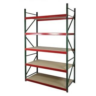 Shelving-Pro Archive Bulk Rack, 96 x 36 x 96, Double Deep Shelving