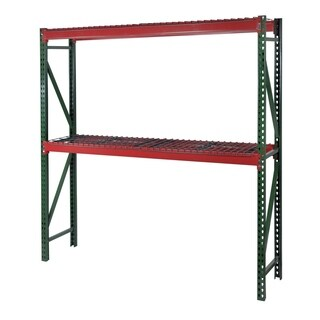 Shelving-Pro Bulk Rack Shelving, 48 x 48 x 144, Heavy Duty