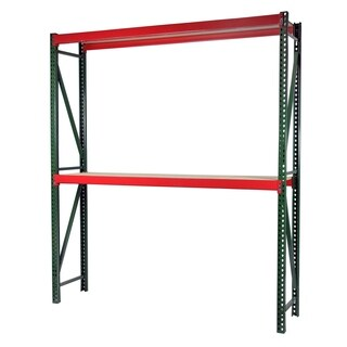Shelving-Pro Bulk Rack Shelving, 96 x 24 x 72, Heavy Duty