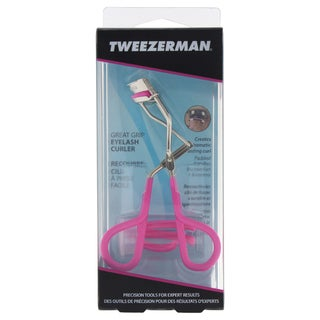 Tweezerman Great Grip Eyelash Curler Neon Pink