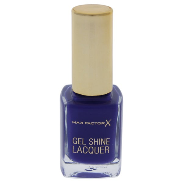 Max Factor Gel Shine Nail Lacquer 35 Lacquered Violet
