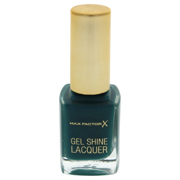 Max Factor Gel Shine Nail Lacquer 45 Gleaming Teal
