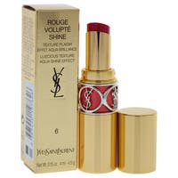 Yves Saint Laurent Rouge Volupte Shine Lipstick 6 Pink In Devotion