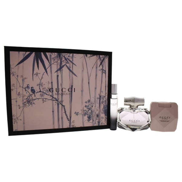d3250fc3d Shop Gucci Bamboo Women's 3-piece Gift Set - Free Shipping Today - Overstock  - 21383184