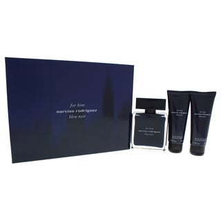 Narciso Rodriguez Bleu Noir Men's 3-piece Gift Set
