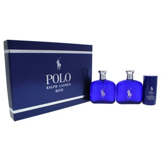 Ralph Lauren Polo Blue Men\u0027s 3-piece Gift Set