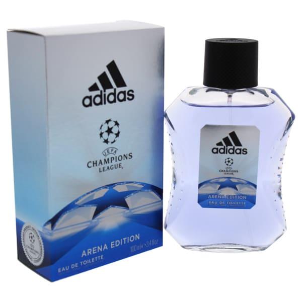 01bb63065b8e Adidas UEFA Champions League Men's 3.4-ounce Eau de Toilette Spray (Arena  Edition)