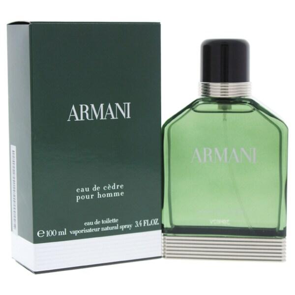 Giorgio Armani Eau De Cedre Men s 3.4-ounce Eau de Toilette Spray 08c13163f0d0