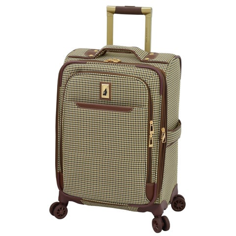 London Fog Cambridge II 20-inch Expandable Spinner Carry-On Suitcase