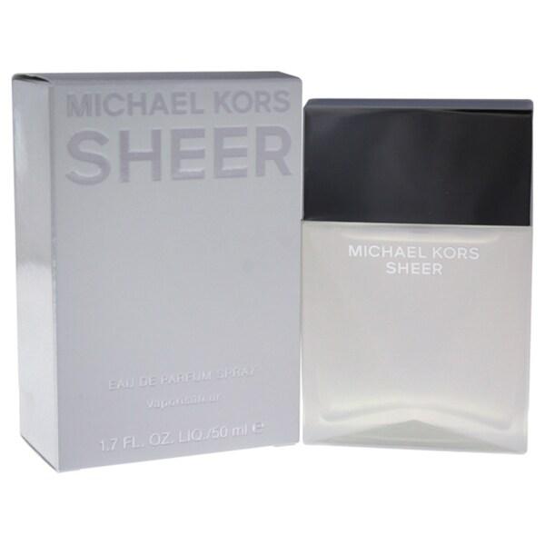 cc40792a7731 Shop Michael Kors Sheer Women s 1.7-ounce Eau de Parfum Spray - Free  Shipping Today - Overstock - 21383274