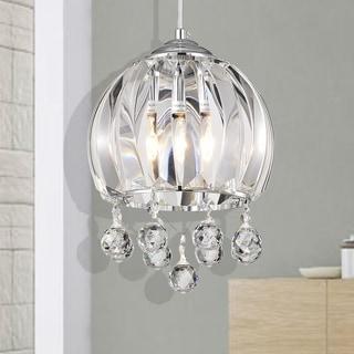 Link to Deanna Chrome 1-Light Bowl Pendant Similar Items in Pendant Lights