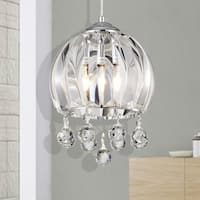 Deanna Chrome 1-Light Bowl Pendant
