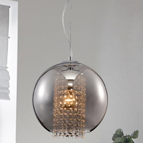 Kendall Chrome 1-Light Globe Pendant
