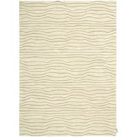 "Calvin Klein Canyon ""Estuary"" Sand Area Rug by Nourison - 7'9"" x 10'10"""