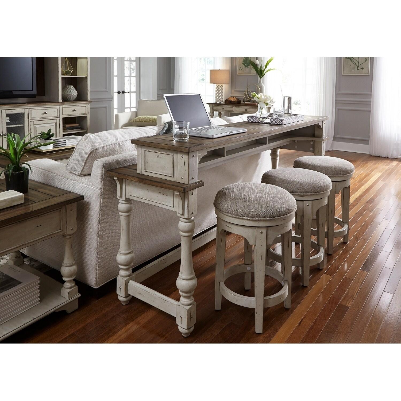 Wondrous Morgan Creek Antique White Console Table Alphanode Cool Chair Designs And Ideas Alphanodeonline