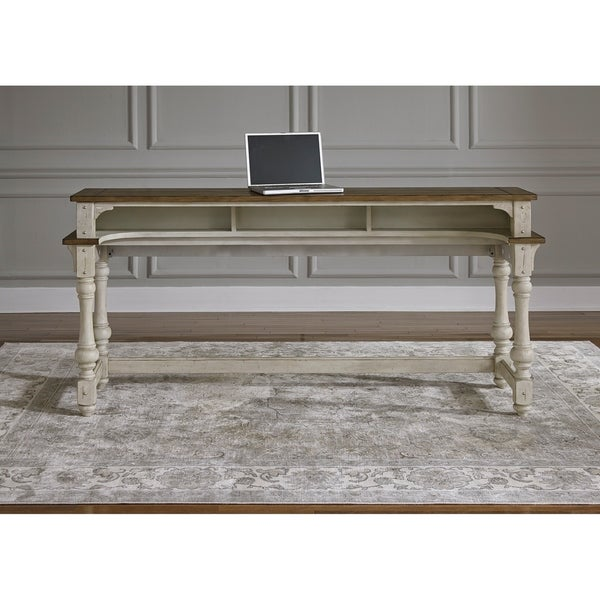 Shop Morgan Creek Antique White Console Table   On Sale   Free Shipping  Today   Overstock   21383568