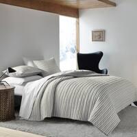 Ellen Degeneres Horizon Lines Grey Quilt
