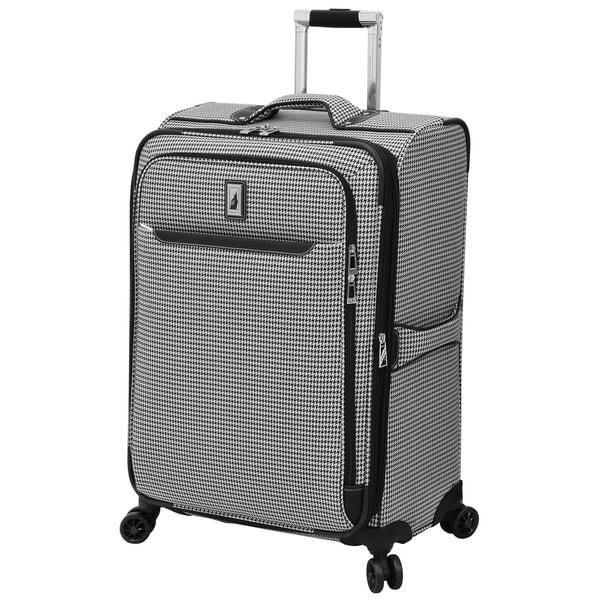 fd4e54bdf London Fog Cambridge II 25-inch Expandable Spinner Suitcase - 25 x 18 x 10.5