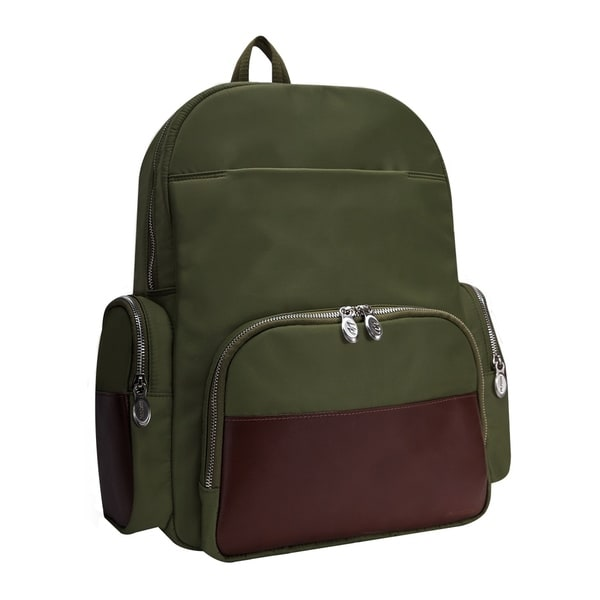 McKlein USA CUMBERLAND Nylon Dual Compartment Laptop Backpack