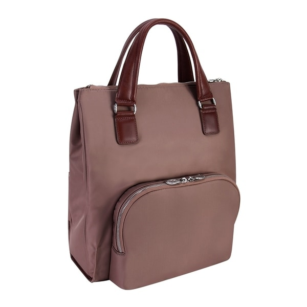McKlein USA SOFIA 4-In-1 Nylon Ladies Slim Backpack Tote