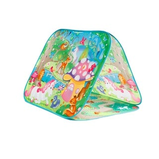 Fun2Give Pop-It-Up Enchanted Forrest A-Frame Play Tent
