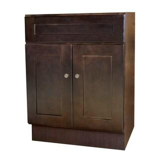 24X18 Espresso Vanity Cabinet
