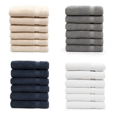 Porch & Den Harcourt Turkish Cotton Hand Towel (Set of 6)