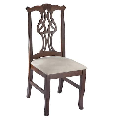 "Copper Grove Bitterroot Oak Finish Dining Chair - 7'9"" x 10'5"""