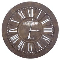 Yosemite Home Décor Kensignton Station III Wall Clock - N/A