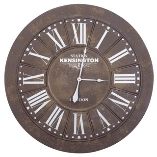 Yosemite Home Décor Kensignton Station III Wall Clock
