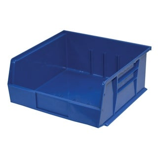 "Shelving-Pro Case of Stackable Blue Bins, 11"" x 11"" x 5"" (6 bins)"