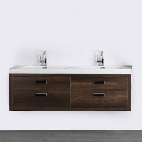 "63"" Streamline K1820-098-63-55 Double Floating Vanity"