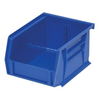 "Shelving-Pro Case of Stackable Blue Bins, 5"" x 4"" x 3"" (24 bins)"